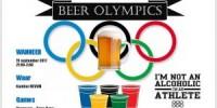 BEER OLYMPICS! 15 september in de kantine