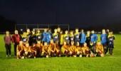 JO15-1 zet blessure gevallen in het zonnetje en oefent tegen Engels team
