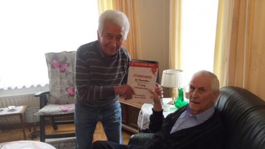 Jubileum Jef Ramaekers (70 jaar lid)
