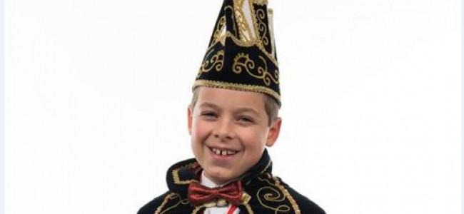 Joep Schellings jeugdprins bij CV de Moelemaekerkes