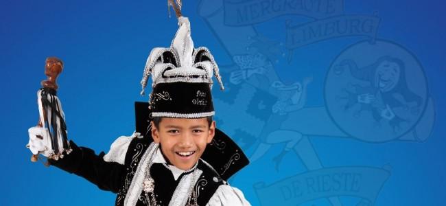 Wethat Vaessens uitgeroepen tot jeugdprins van cv de Rieste