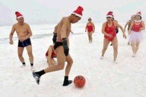 Trainen in Hollandse winters